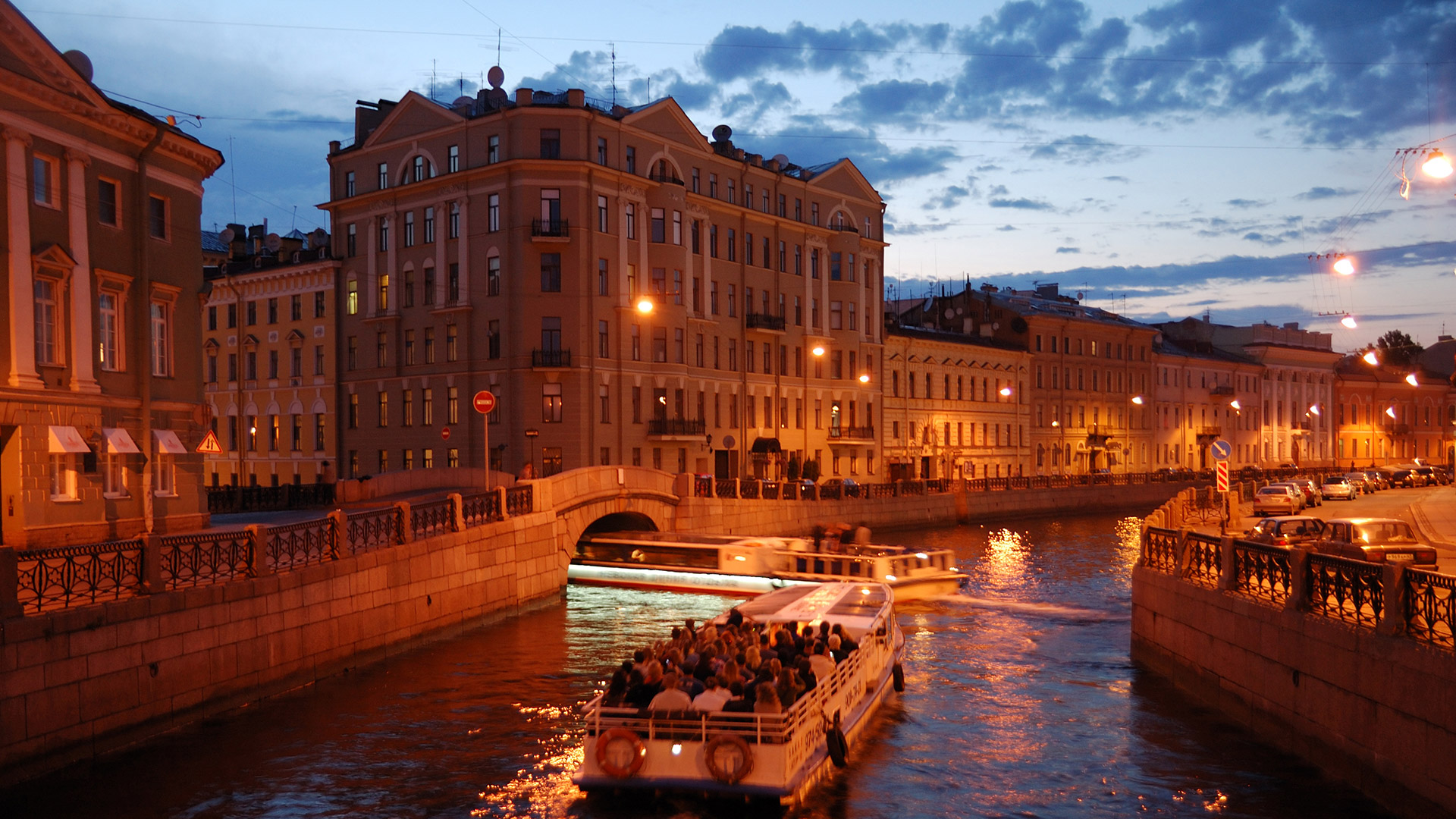 Saint Petersburg. Canal Trip
